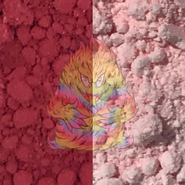 thermal dust, thermochromic, color change