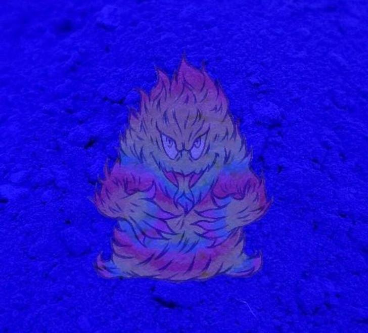 Blue Fluorescent pigment