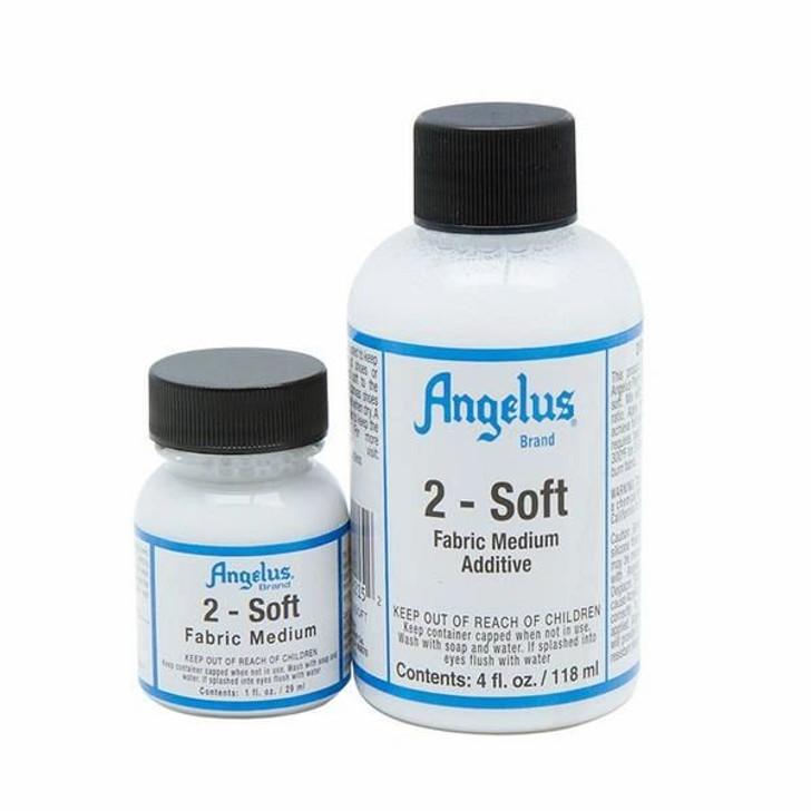 angelus 2- soft, softens fabrics after painting