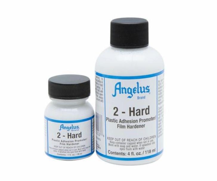 Angelus 2-hard, allow paint to adhere