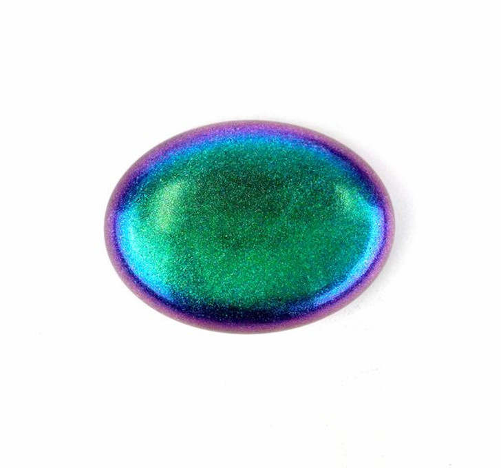 Ethereal dust, vivid iridescent pigments