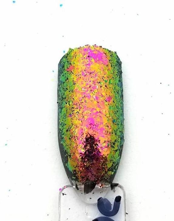Super Chameleon Flakes - Brown/Gold/Green/Blue