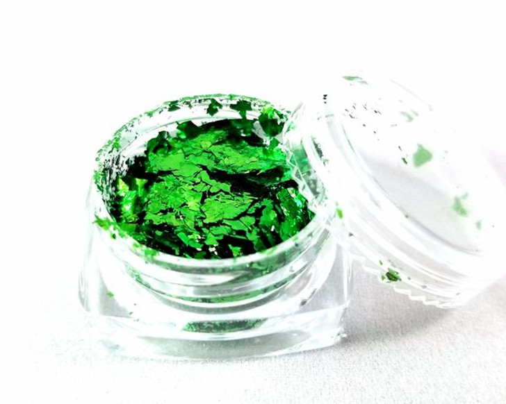 Metallic Flakes - Green