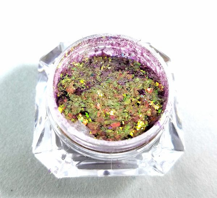 Rainbow candy flakes, easy to use flakes