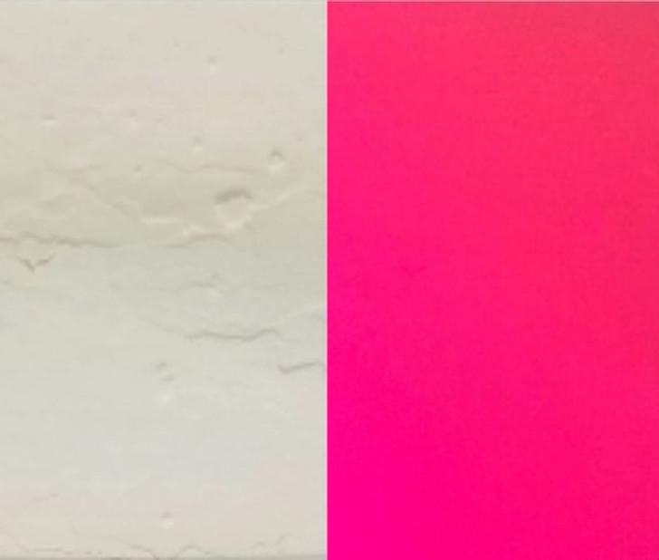 Red fluorescent, color change fluorescent, glows under blacklight
