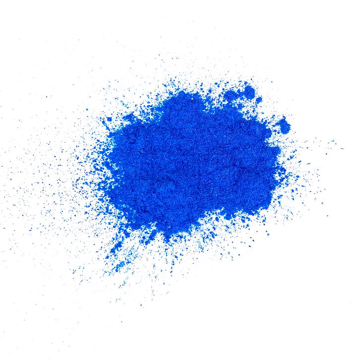 Vivid Blue Pearlescent Pigment, Bright Blue Mica Powder