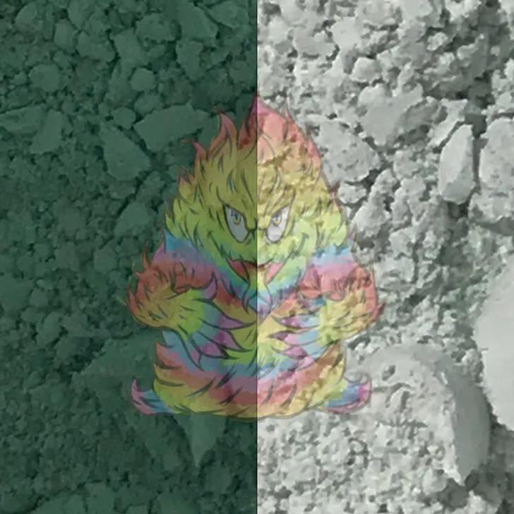 Thermal Dust® 86ºF - Dark Green to Colorless - Heat Sensitive