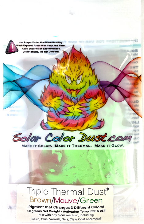 Triple Thermal Thermochromic Pigment