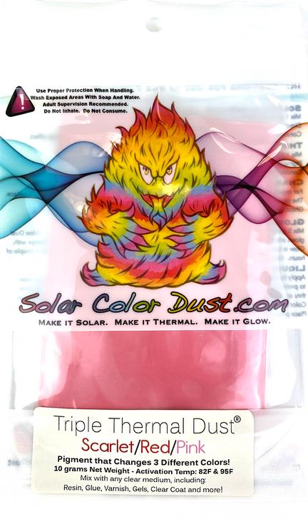 Triple Thermal Dust® -Scarlet/Red/Pink
