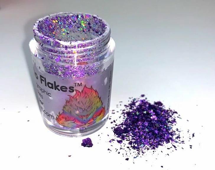 Hyper Holo® Flakes - Purple