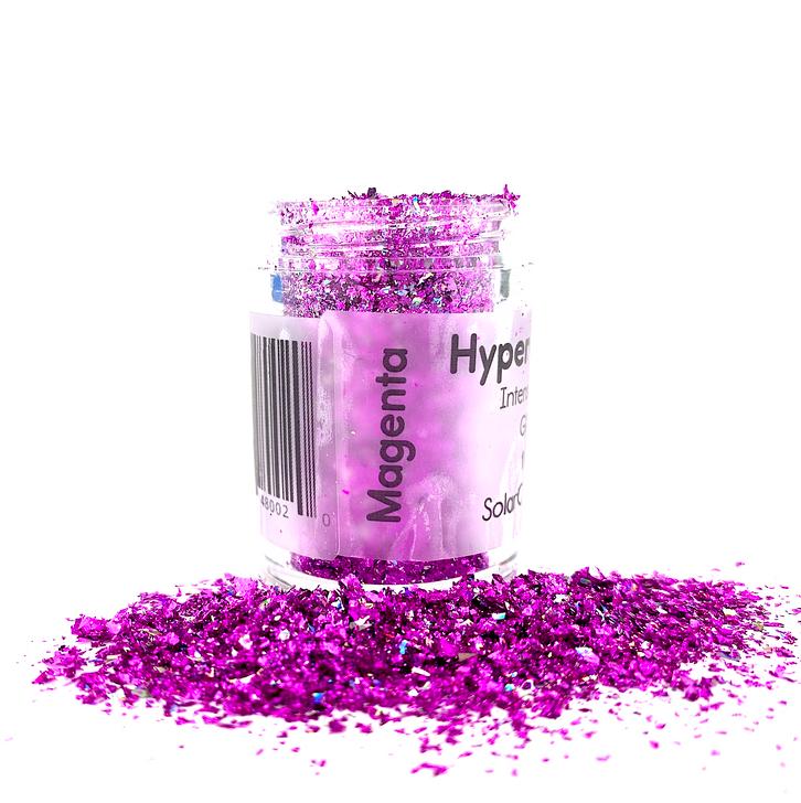Hyper Holo™ Flakes - Magenta - Intense Holographic Flakes