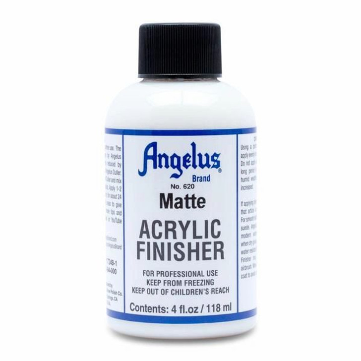 Angelus matte finisher, acrylic finisher to protect projects