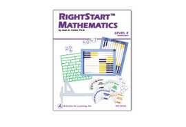 RightStart™ Mathematics Level E Worksheets