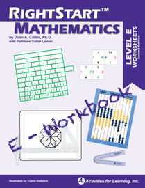 RightStart™ Mathematics Level E E-Workbook Second Edition