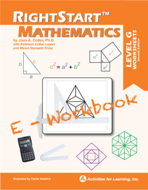 RightStart™ Mathematics Level G E-Workbook Second Edition