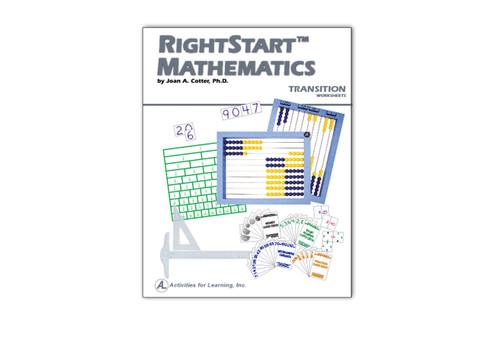 RightStart™ Mathematics Transition Worksheets