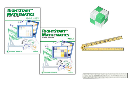 RIghtStart™ Mathematics First Edition C to D Add-On Kit