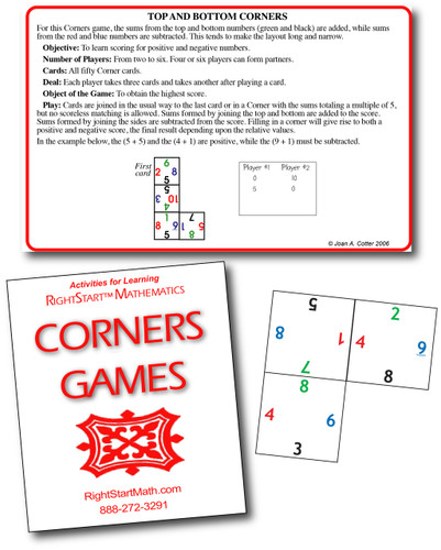 RightStart™ Corners Games