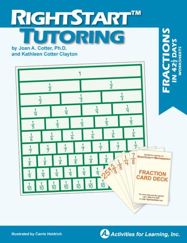 RightStart™ Tutoring Fractions Worksheets
