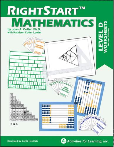RightStart™ Mathematics Level D Worksheets Second Edition