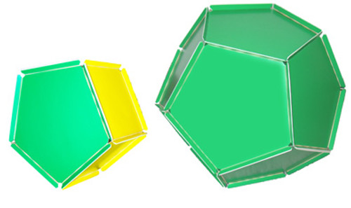 RightStart™ Geometry Panels Dodecahedron and Pentagonal Prism Kit (While supplies last)