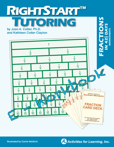 RightStart™ Tutoring Fractions Worksheets E-Book