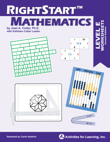 RightStart™ Mathematics Level E Worksheets Second Edition
