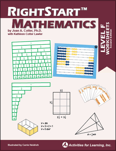 RightStart™ Mathematics Level F Worksheets Second Edition