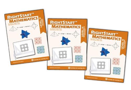 RightStart™ Mathematics Level H Second Edition Book Bundle