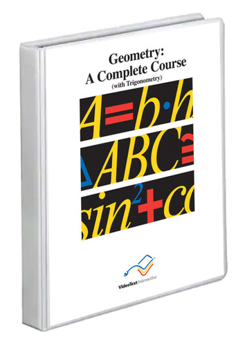 VideoText Interactive Geometry Module E with DVDs