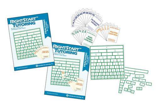 RightStart™ Tutoring Fractions Kit