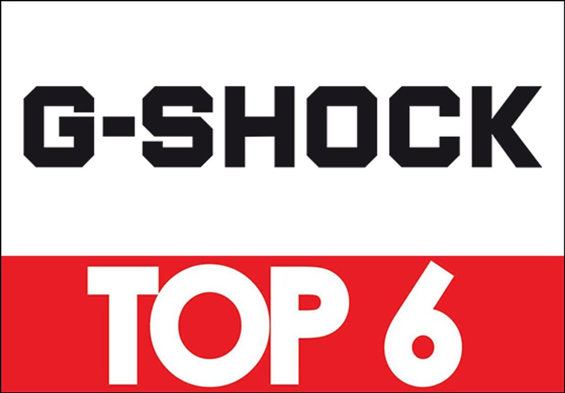Top 6 G-Shock