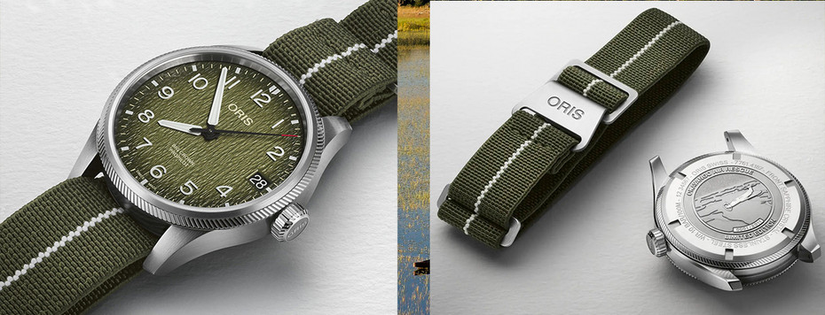Oris Okavango Air Rescue Limited Edition ProPilot 01 751 7761 4187 - Set