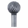 High-Speed Steel Round Bur, 5.9mm |Sold by Each| 345525