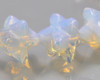 Merkaba Star Opalite Carving Beads 8x8mm | Sold by 1 bead | BS0127