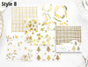 Translucent Note Paper Set   4 Styles   H20201622-25