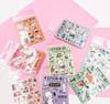 Little Bear Transparent Sticker Pack   8 Styles   JDG15-21