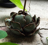 Flower Incense Holder   Small Celadon Lotus   H20201375