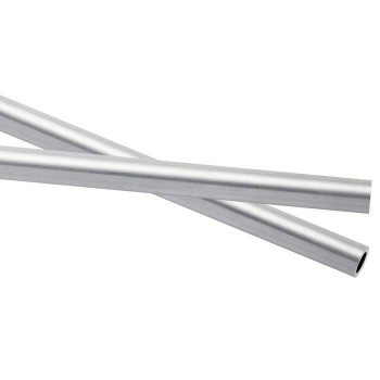 925 Sterling silver Heavy Wall Tubing, OD 3.56mm ID 2.54 | Sold by cm | 100452 |Bulk Prc Avlb