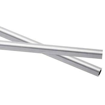 925 Sterling silver Heavy Wall Tubing, OD: 5.61mm ID: 4.34mm  Sold by cm   100429  Bulk Price Av