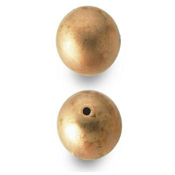 Copper 16mm Round Bead Pk of 5 | 682592