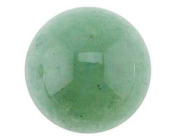 Round 6mm Aventurine Cabochon Stone, Sold By each | 60083