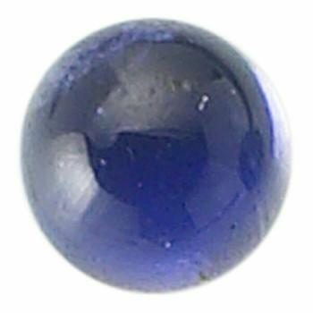 Iolite 4mm Round Cabochon Item   65512