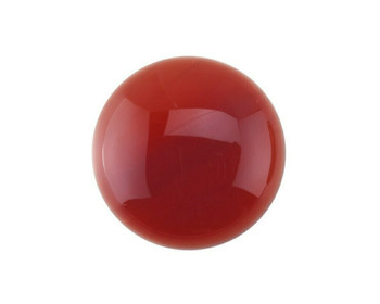Round 10mm Carnelian Cabochon Stone, Sold By Each | 85023
