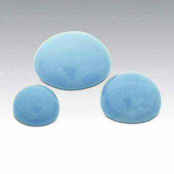 Round 4.5mm Sleeping Beauty Turquoise Cabochon   74095