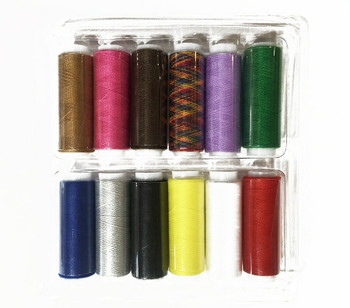 Sewing Thread Set of 12 | No.402, 0.2mm | PZ40212