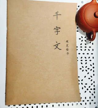 Chinese Calligraphy Pen Practice book | Thousand Characters | DLQZ01