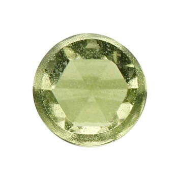 Peridot 3mm Round Rose-Cut Cabochon, N |Sold by Each | 73644