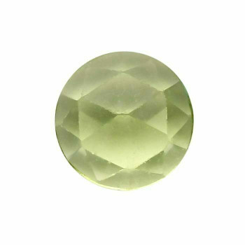Peridot 4mm Round Rose-Cut Cabochon, N |Sold by Each | 73645