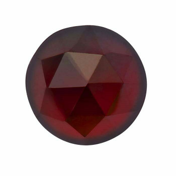 Garnet 5mm Round Rose-Cut Cabochon, N |Sold by Each| 88712